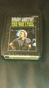 Vintage-8-Track-Cassette-Cartridge-Eight-Gordon-lightfoot-the-way-I-feel