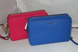 e72a5c255 Michael Kors Jet Set Travel LG Cross-Body Bag - Ultra Pink or ...