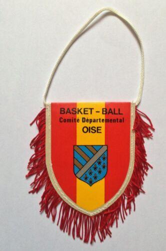 Fanion  F.F.B.B basket ball Comité départemental de l'Oise