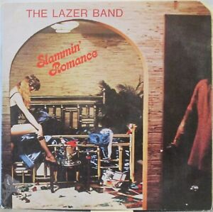 THE LAZER BAND Slammin' Romance LP U.S. Hard Rock/New Wave