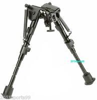 Hunting Harris Style 6-9 Bipod Metal Folding Foregrip Spring Legs 6-9 Inch