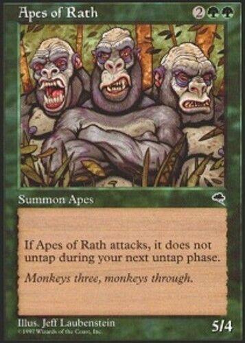 4x Apes of Rath MTG Tempest NM Magic Regular