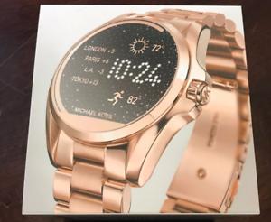 Mkt5004 Michael Rosa Detalles Oro Bradshaw De Acceso Táctil Kors Smartwatch kXuOZPwiT