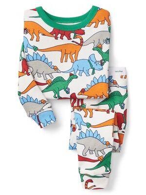 NWT Baby Gap Dinosaur Dino Short Pajamas PJs 2PC Baby Toddler Boy
