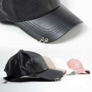 f275ab98cb3 Image is loading NewStylish-Mens-Fashion-Accessories-Hat -Double-Ring-Pierced-