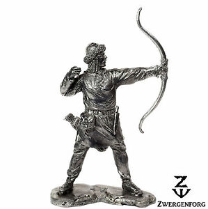 Tin Toy Soldier 54mm Viking Archer Norse Bowman Hunter 132 Metal