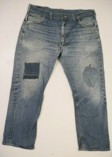 Vintage 60s Lee Riders Jeans Talon Zip Sanforized