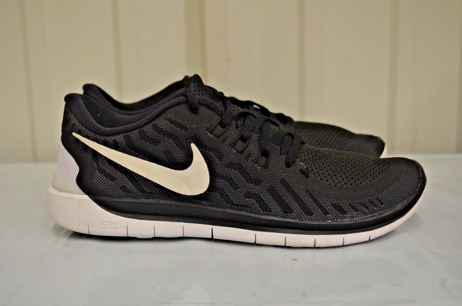 pretty nice 1b5cd 06360 Nike 5.0 GS Big Kids 725104-001 Black Grey Athletic Shoes Youth Size 7    eBay
