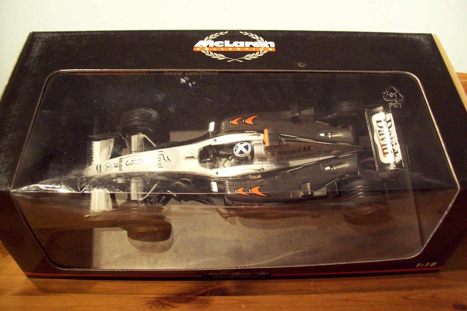 1 18 McLaren Mercedes MP4 17 David Coulthard 2002