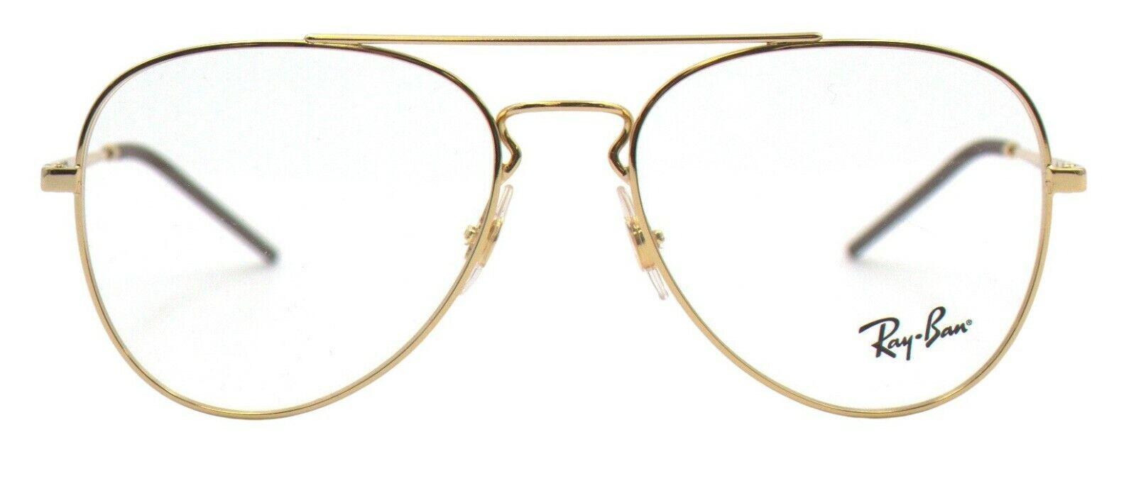 Ray-Ban Damen Herren Brillenfassung RX6413 2500 54mm gold pilot BO31 B