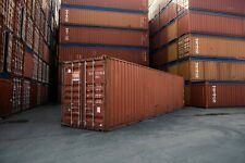 Used 40 High Cube Steel Storage Container Shipping Cargo Conex Seabox Kansas Ci
