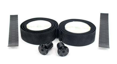 Black//White Supacaz Super Sticky Kush Road Bike Handlebar Tape