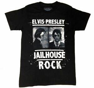 Elvis-Presley-Fahndungsfoto-Jailhouse-Rock-T-Shirt-NWT-034-Official-Elvis-Produkt-034