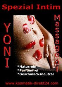 Intim Massageöl Essbar 250 ml für Yoni Lingam & Erotik Intimmassage Parabenfrei