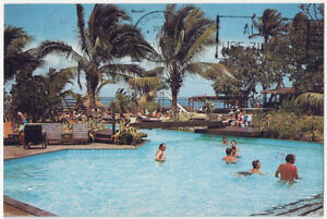 Details About Fiji Islands Naviti Beach Resort Chrome Vintage Postcard