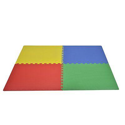 HOMCOM  Tappeto Gioco Bimbi 60x60cm Materiale Isolante Resistente all'Umidità