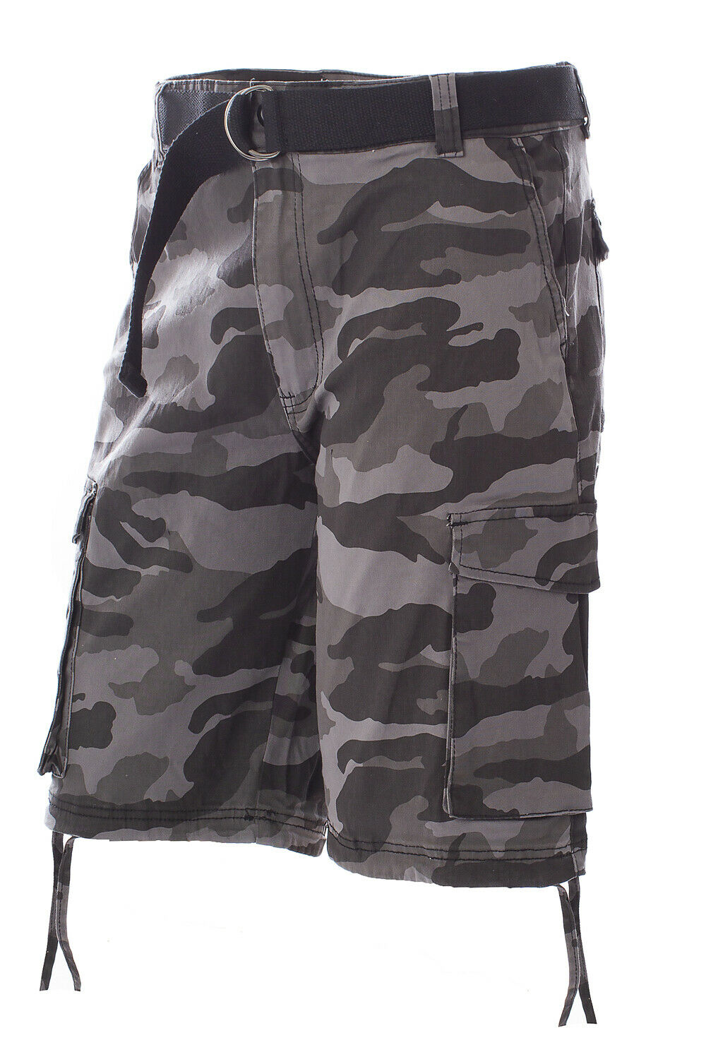 New Mens Slim Fit Fleece Shorts Army Half Pants Camouflage Cotton Jersey Bottoms