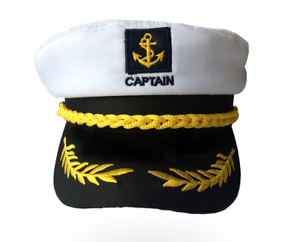 daae561db59af Image is loading Unisex-Skipper-Ship-Sailor-Navy-Hat-Yacht-Military-