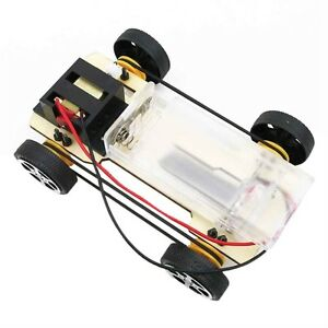 DIY-Mini-Battery-Powered-Wooden-Car-Model-Children-Educational-Toy-Gift-MY