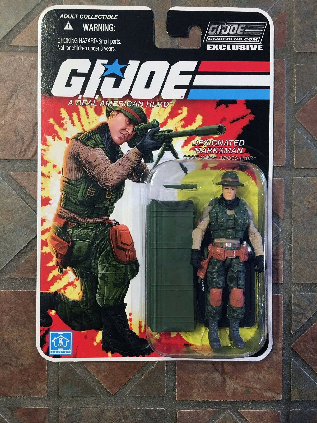 Gi Joe Fss Crosshair 6.0 2018 Collectors Club Exclusiv Figur Cobra 30. 50th