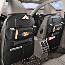 Black Car Auto Leather Seat Back Multi-Pocket Bag Organizer Storage Holder Case