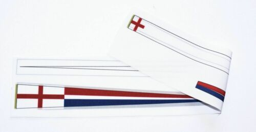 Heller HMS Victory 1:100 set of flags and Draft scales for model