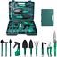 miniatura 1 - Upstartech Set Di Attrezzi Da Giardino, 10PCS Kit Di Attrezzi Da Giardinaggio Co