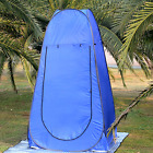 Blue Pop Up Changing Room Shower Tent Camping Privacy Toilet Shelter OTENT05