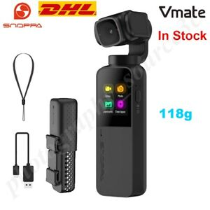 Snoppa Vmate 3 Axis Handheld Gimble Stabilizer W/4K Camera 200Mbps 90°Rotating