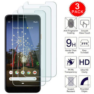 For-Google-Pixel-3a-XL-Premium-HD-Clear-Tempered-Glass-Screen-Protector-3-Pack