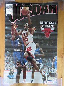całkowicie stylowy jakość wykonania gdzie kupić Details about 1995 Starline MICHAEL JORDAN No. 23 CHICAGO BULLS Poster w/  HORACE GRANT Magic