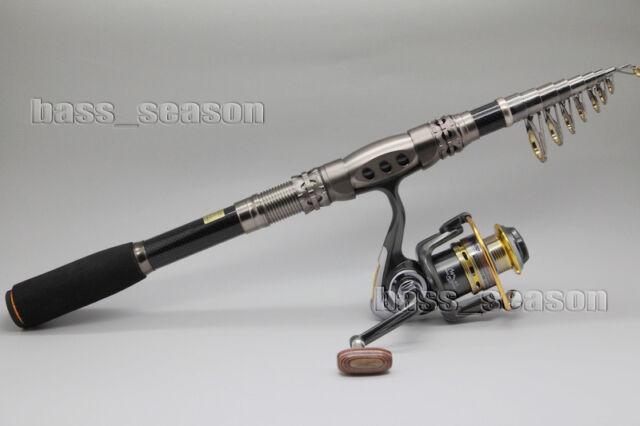 3.3M 10.83Ft Mini Fishing Rod Spinning Rod Telescopic Pole Rod Long Cast rod