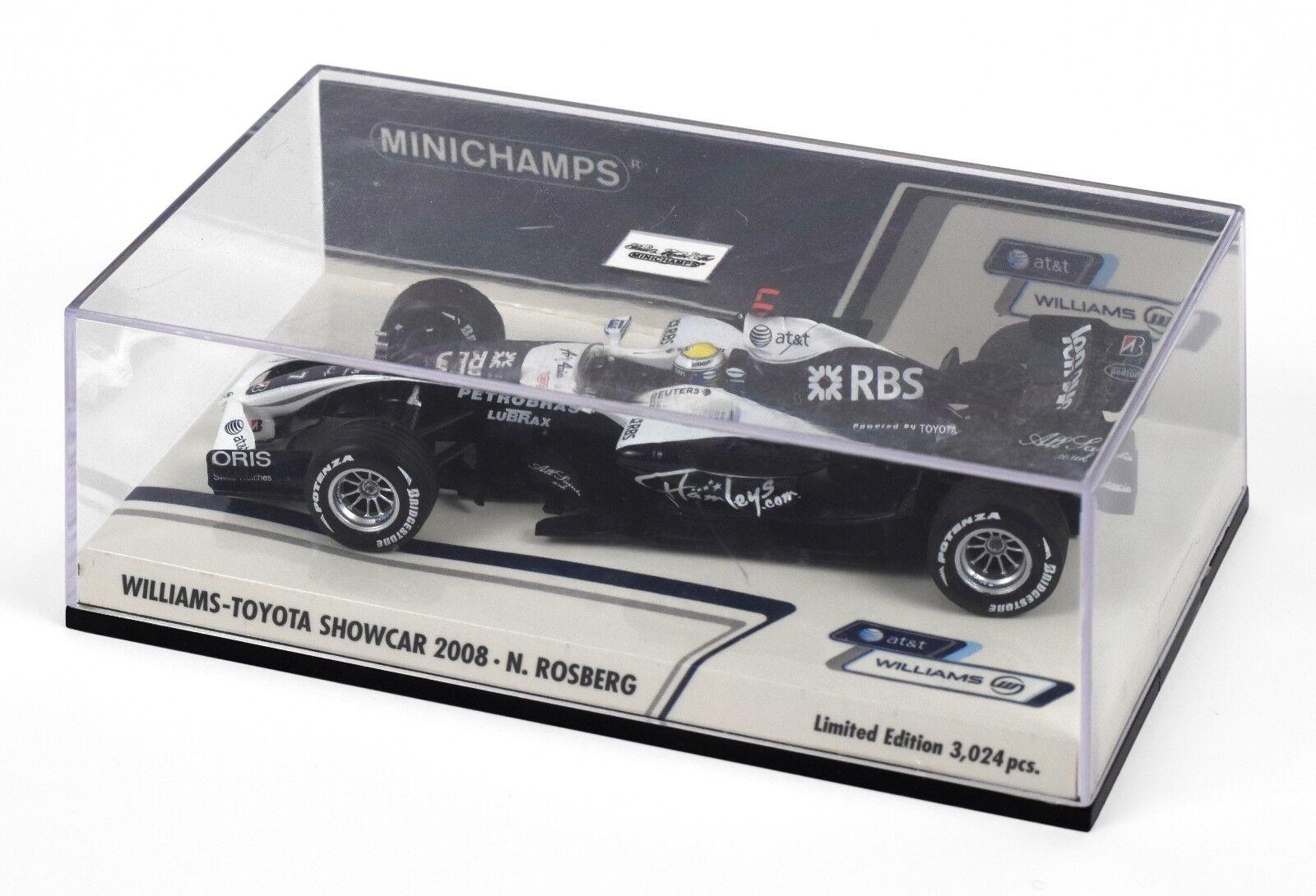 Minichamps DP 1 43 Williams-Toyota F1 Showcar 2008 - N. N. N. Rosberg (400-080077) f7474a