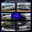 2x 100mm,2 colour Jetski,PWC,waverunner,sea doo,boat REGISTRATION numbers decals