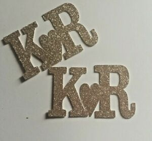 Custom-cupcake-toppers-wedding-engaged-personalised-glitter-cupcake-topper-X-6