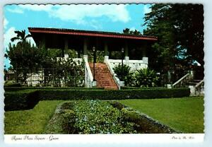 Agana Guam Ancient Stairs Town Square Plaza C1960s 4 X6 Postcard Ebay