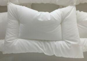 IKEA LEN Kopfkissen für Kinderbett, weiß, 35x55 cm Babykissen Kinderkopfkissen