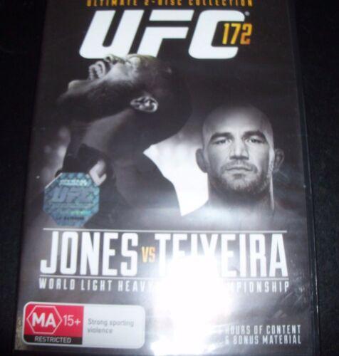 1 of 1 - UFC Ultimate Fighting 172 Jon Jones Vs Glover Teixeira (Aust Reg 4) DVD – New