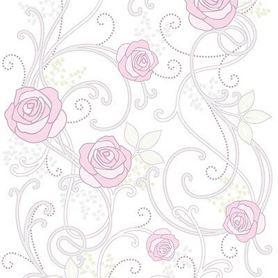 Roses Self Adhesive Wallpaper Roll Prepasted Peel Stick Vinyl Contact Paper Home