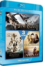 "Blu-ray neuf sous blister ""BANG RAJAN 2+PIRATES DE LANGASUKA+KING MAKER"""