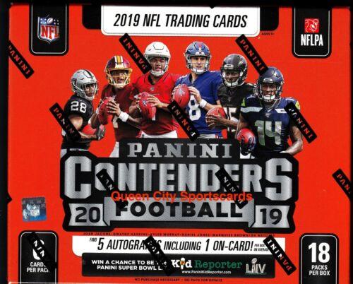 2019 Panini Contenders Football Factory Sealed Hobby Box