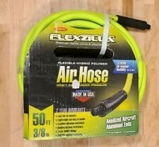 Flexzilla Flexible Hybrid Polymer Air Hose 38 X 50 14 In Mnpt Fittings
