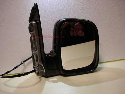 Volkswagen Caddy Mk4 Van 6//2015-/> Heated Aspherical Mirror Glass Drivers Side