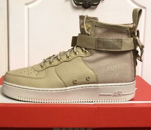 Detalles de NIKE SF AF1 mediados especial FORCE 1 Zapatillas Zapatos FIELD AIR UK 10 EUR 45 US 11 ver título original