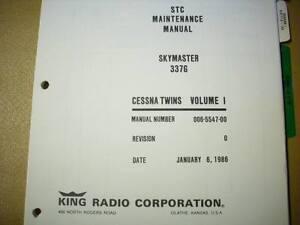 kfc 200 autopilot in cessna 337g service manual ebay rh ebay com Bendix King KFC 200 KFC 200 Autopilot Manual