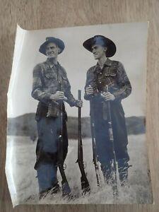 Vintage-Australian-Photo-Brother-hunting-B1