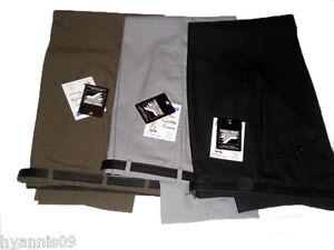 Pantalones-para-hombre-Casual-Formal-Trabajo-De-Oficina-Escuela-cintura-30-034-50-034-L-27-034-29