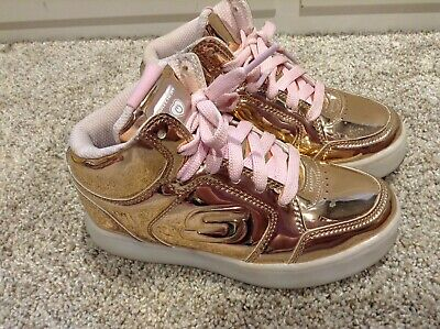Lil Dazzle Shoes 11 M US Rose Gold for