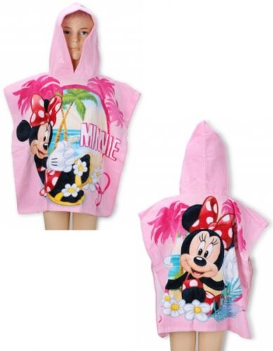 Disney /& Kids Favourite TV Movie Character Poncho Towel Brand New Gift