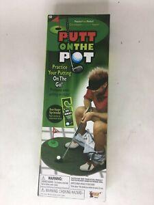 Strange Details About Putt On The Pot Set Toilet Seat Putter Golf Ball Bathroom Golfers Gag Gift Game Evergreenethics Interior Chair Design Evergreenethicsorg